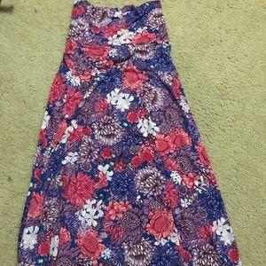 XXS Lularoe Maxi Skirt